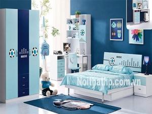 Giường tủ trẻ em đẹp giá rẻ MS893