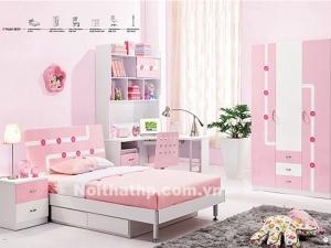 Giường tủ trẻ em đẹp giá rẻ nhất Sài Gòn MS883