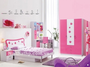 Giường tủ trẻ em giá rẻ MS8625