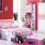 Giường tủ trẻ em giá rẻ MS895