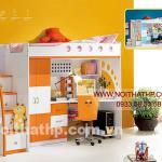 Giường tầng trẻ em giá rẻ nhất Sài Gòn MS805