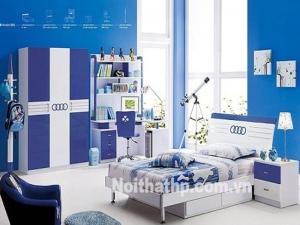 Giường tủ trẻ em giá sốc MS806