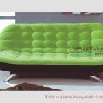Sofa bed tiết kiệm diện tích xanh lá DA38