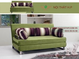 Sofa giường bed màu xanh DA10